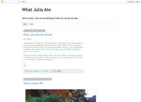 whatjuliaate.blogspot.com