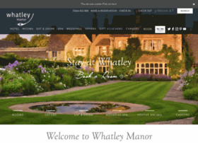 whatleymanor.com