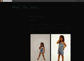 whatlilaloves.blogspot.co.uk