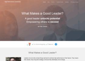 whatmakesagoodleader.com