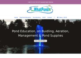 whatpond.com