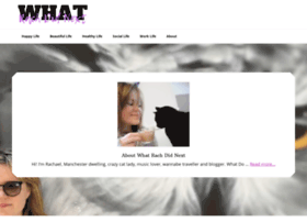 whatrachdidnext.co.uk