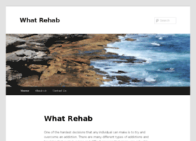 whatrehab.co.za