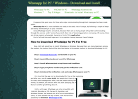 whatsappforpcwindows.webstarts.com