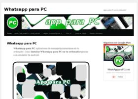 whatsappparapc.com
