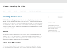 whatscomingin2014.com