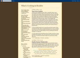 whatscookingboulder.blogspot.com