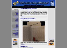 whatsmypass.com