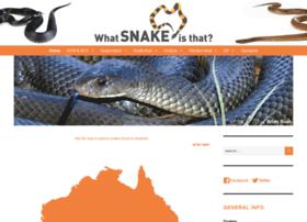 whatsnakeisthat.com.au