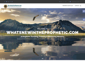 whatsnewintheprophetic.com