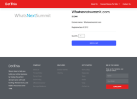 whatsnextsummit.com