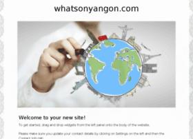 whatsonyangon.com