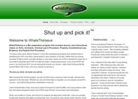 whatstheissue.org