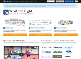 whattheflight.com