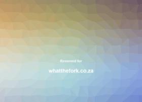 whatthefork.co.za