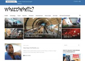 whatthehellz.com
