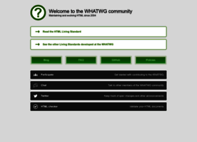 whatwg.org