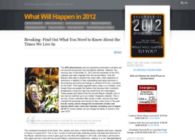 whatwillhappenin2012now.com