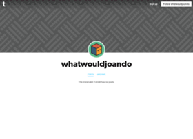whatwouldjoando.tumblr.com