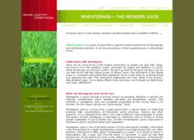 wheat-grassjuice.com