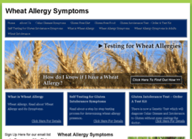 wheatallergysymptoms.org