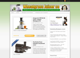 wheatgrassjuicer.co