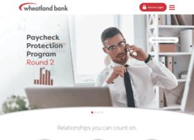 wheatlandbank.com