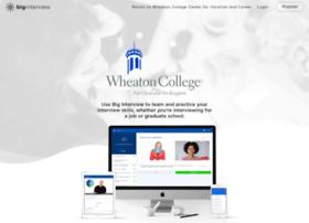 wheaton.biginterview.com