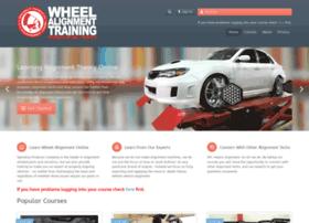 wheelalignmenttraining.com