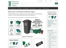 wheelierubbishsigns.co.uk