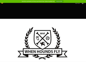whenhoundsfly.com
