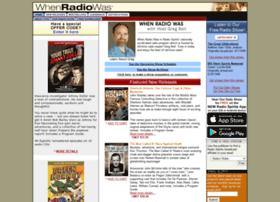 whenradiowas.com