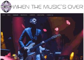 whenthemusicsover.net