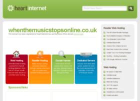 whenthemusicstopsonline.co.uk