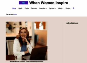 whenwomeninspire.com