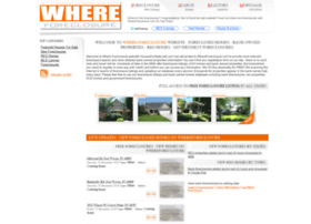 whereforeclosure.com