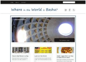 whereintheworldisbasha.com