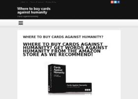 wheretobuycardsagainsthumanity.org