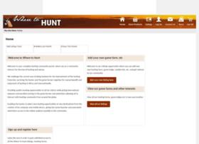 wheretohunt.net