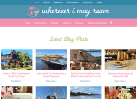 whereverimayroamblog.com