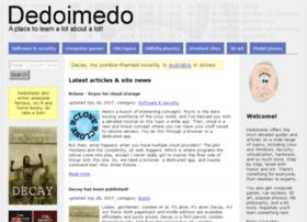 wherewww.dedoimedo.com
