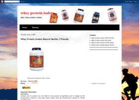 whey-protein-isolate-review.blogspot.com