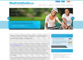 wheyproteinpowder.org