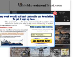 whichinvestmenttrust.com