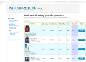 whichprotein.co.uk