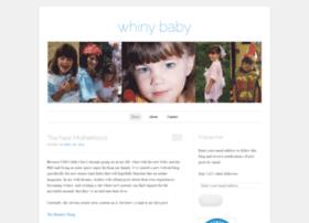 whinybaby.wordpress.com