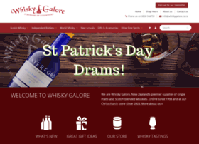 whiskygalore.co.nz