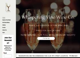 whisperingvinewine.com
