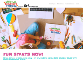 whistlerchildrensfestival.com