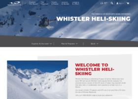 whistlerheliskiing.com